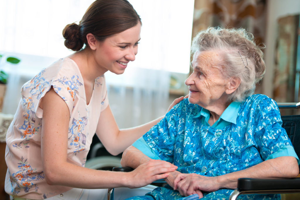ASK ASSISTED LIVING ADVICE FROM HOME HEALTH STAFF